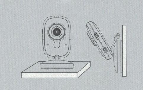Установка детского блока цифровой видеоняни AngelEye AE603