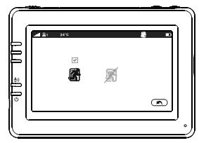 Функция слежения за движением видеоняни Ramili RV900 с экраном 4,3 дюйма